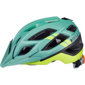 KED Companion Helmet olive/yellow matte